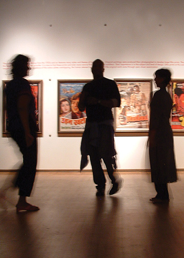 Exhibition design and visual identity