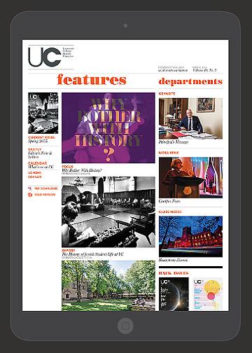 UC Magazine Website
